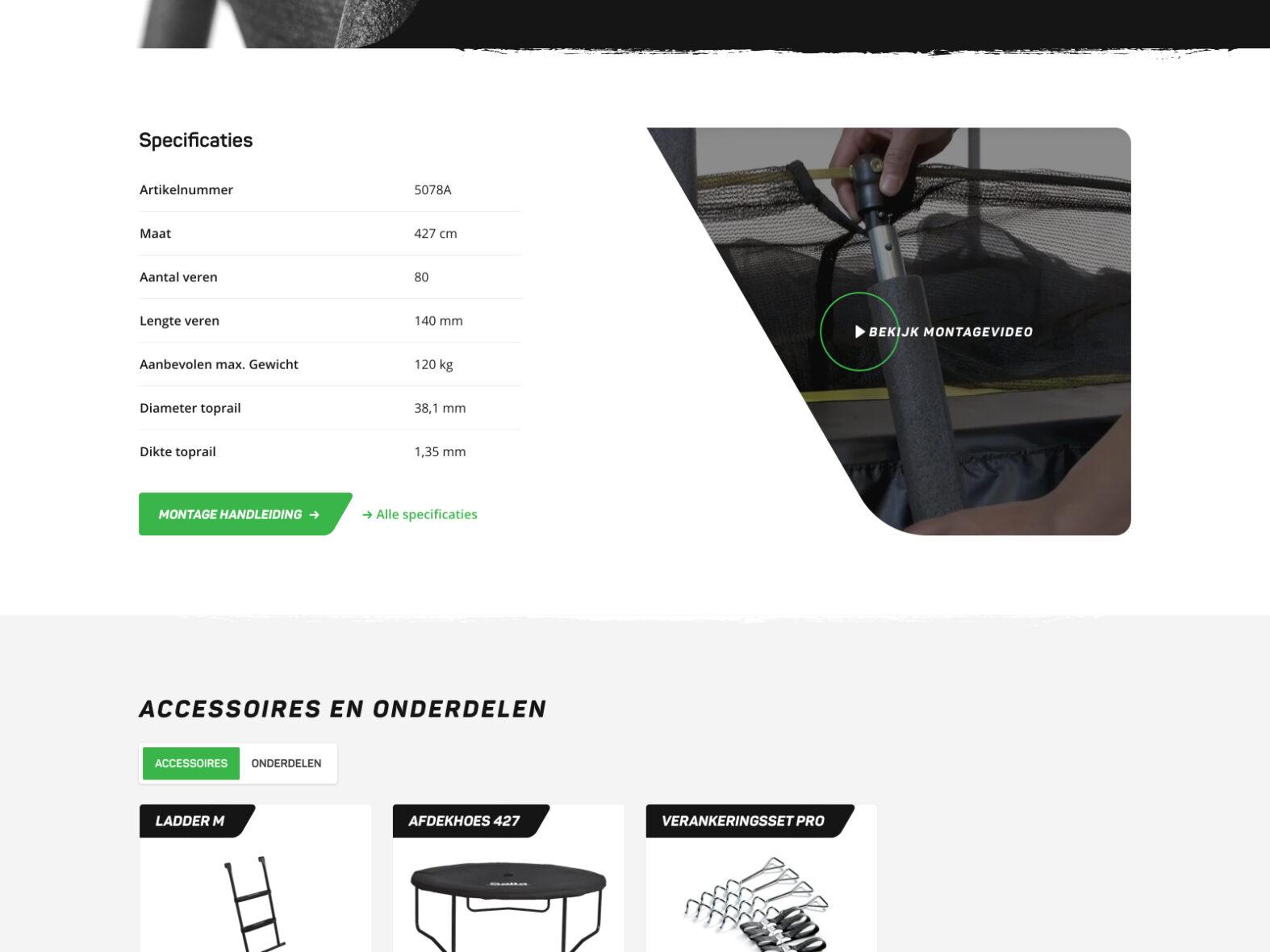 Webshop voor Salta
